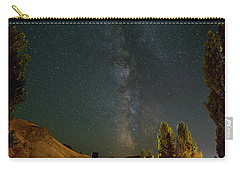 Milky Way Over Farmland In Central Oregon Carry-all Pouch
