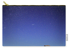 Milky Way Over Half Dome Carry-all Pouch by Rick Berk
