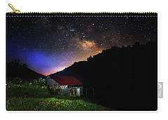 Milky Way Over Mountain Barn Carry-all Pouch