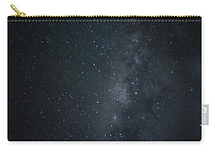 Carry-all Pouch featuring the photograph Milky Way Over Poipu Beach by Roger Mullenhour