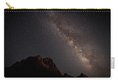 Milky Way Over Zion Carry-all Pouch