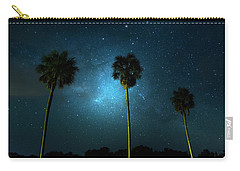 Milky Way Planet Carry-all Pouch by Mark Andrew Thomas