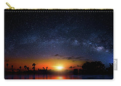 Milky Way Sunrise Carry-all Pouch by Mark Andrew Thomas