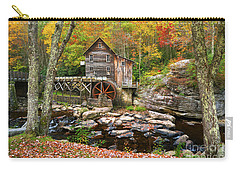 Mill At Babcock State Park Carry-all Pouch
