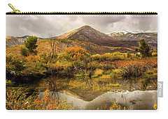 Mill Canyon Peak Reflections Carry-all Pouch