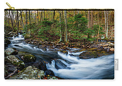 Mill Creek In Fall #2 Carry-all Pouch