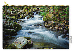 Mill Creek In Fall #3 Carry-all Pouch