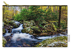 Mill Creek In Fall #4 Carry-all Pouch