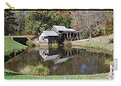 Carry-all Pouch featuring the photograph Mill Reflections by Eric Liller