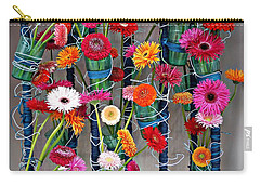 Millefiori Carry-all Pouch by AmaS Art
