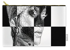 Millennial Square Series 1254 Carry-all Pouch by Rafael Salazar