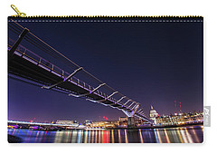 Millennium Bridge London  Carry-all Pouch by Mariusz Czajkowski