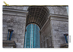 Millennium Gate Triumphal Arch At Atlantic Station In Midtown At Carry-all Pouch by Alex Grichenko