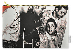Million Dollar Quartet Carry-all Pouch by Luis Ludzska