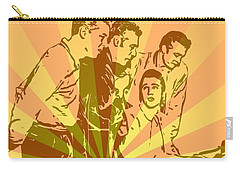 Million Dollar Quartet Pop Art Carry-all Pouch by Dan Sproul