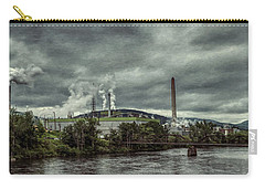 Carry-all Pouch featuring the photograph Milltown by Guy Whiteley