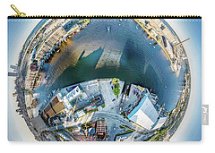 Carry-all Pouch featuring the photograph Milwaukee And Kk Rivers by Randy Scherkenbach