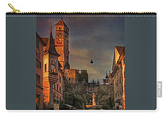 Carry-all Pouch featuring the photograph Main Square by Hanny Heim