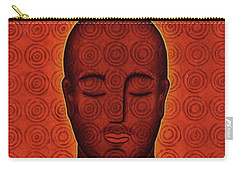 Carry-all Pouch featuring the mixed media Mind Circles by Gloria Rothrock