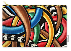 Mind Games - Abstract Energy Painting Carry-all Pouch