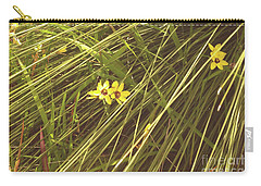 Carry-all Pouch featuring the photograph Mindarie And Flowers by Cassandra Buckley