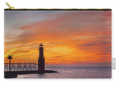 Carry-all Pouch featuring the photograph Mine Eyes Have Seen The Glory by Bill Pevlor