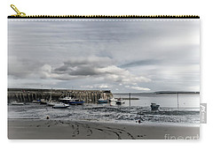 Minehead Harbour Somerset England Carry-all Pouch by Lynn Bolt