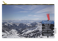 Mineral Basin Carry-all Pouch by Adam Jewell