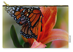 Mingle With A Monarch Carry-all Pouch