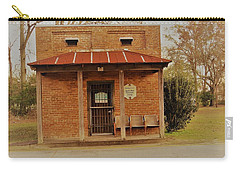 Carry-all Pouch featuring the photograph Mini Jail House by Aaron Martens