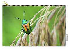 Carry-all Pouch featuring the photograph Mini Metallic Magnificence  by Bill Pevlor