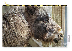 Miniature Horse Carry-all Pouch by Suzanne Luft