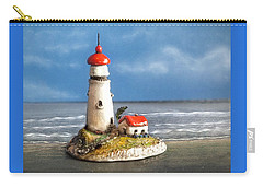 Miniature Lighthouse Carry-all Pouch