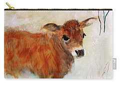 Nicholas The Miniature Zebu Calf Carry-all Pouch