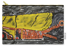 Coal Mining  Carry-all Pouch by Jeffrey Koss