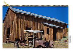 Carry-all Pouch featuring the photograph Mining Relic by Todd Kreuter