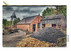 Carry-all Pouch featuring the photograph Mining Village by Adrian Evans