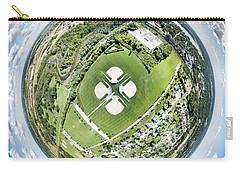 Carry-all Pouch featuring the photograph Miniwaukan Park Little Planet by Randy Scherkenbach