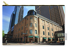 Carry-all Pouch featuring the photograph Minneapolis Downtown by Frank Romeo