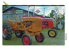 Carry-all Pouch featuring the photograph Minneapolis-moline by Trey Foerster