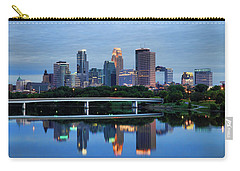 Minneapolis Reflections Carry-all Pouch by Rick Berk