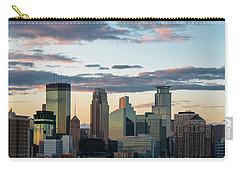 Minneapolis Skyline Sunset Carry-all Pouch