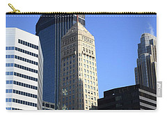 Carry-all Pouch featuring the photograph Minneapolis Skyscrapers 12 by Frank Romeo