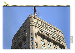 Carry-all Pouch featuring the photograph Minneapolis Tower 6 by Frank Romeo