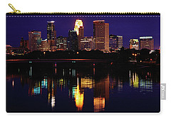 Minneapolis Twilight Carry-all Pouch by Rick Berk