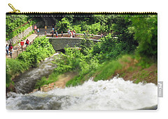 Minnehaha Falls From Above Carry-all Pouch