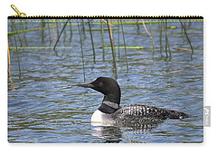Carry-all Pouch featuring the photograph Minnesota State Bird by Penny Meyers