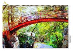 Minnewaska Wooden Bridge Carry-all Pouch