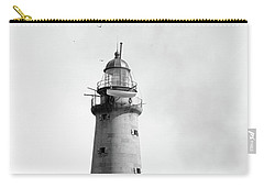 Carry-all Pouch featuring the photograph Minot's Ledge Lighthouse, Boston, Mass Vintage by Vintage