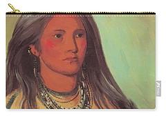 Mint A Mandan Girl 1832 Carry-all Pouch